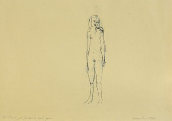Tracey Emin-If I Could Just Go Back, Start Again-1995