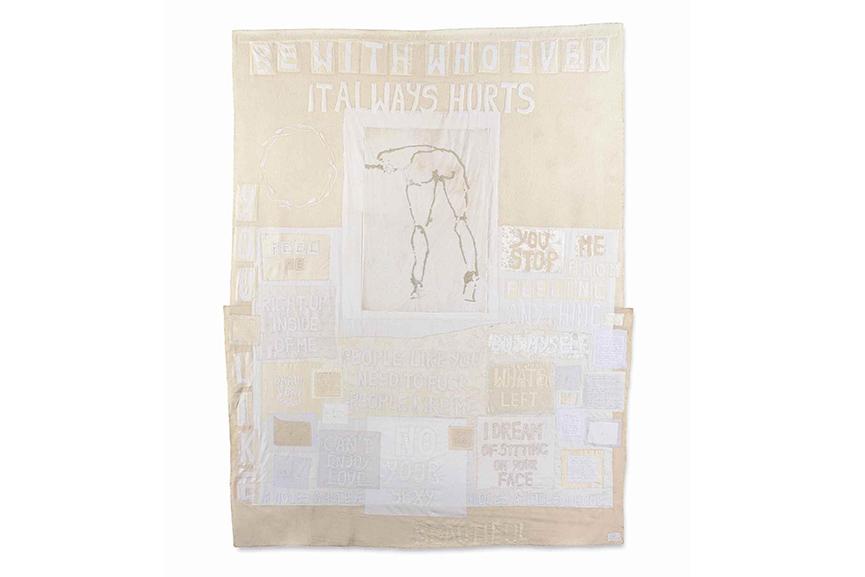 Tracey Emin - It Always Hurts, 2005