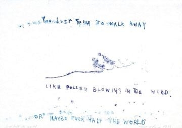 Tracey Emin-Just Half The World-1998