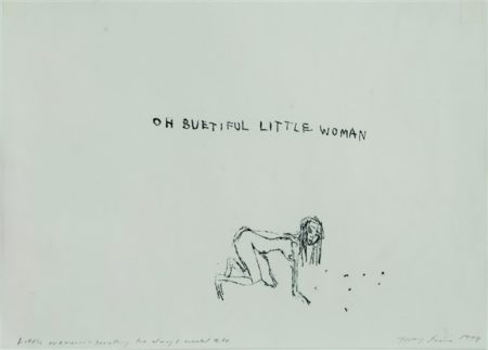 Tracey Emin-Little Woman, Something I've Always Wanted to be-1998