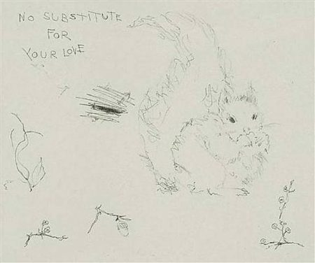 Tracey Emin-No Substitute For Your Love-2003