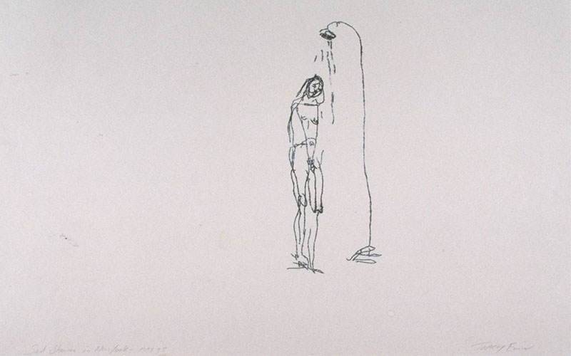Tracey Emin - Sad Shower in New York, 1995 Image copyrights © artist
