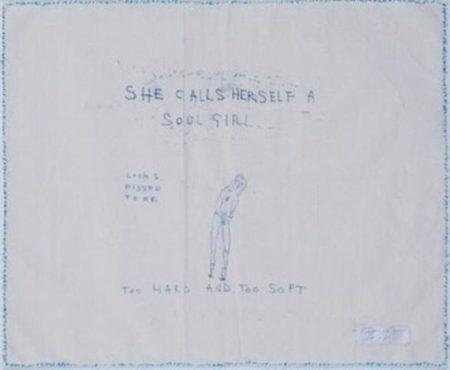 Tracey Emin-She Calls Herself a Soul Girl-1998