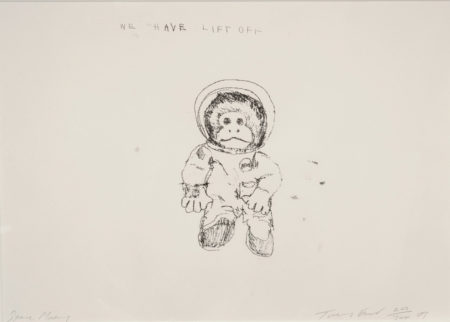 Tracey Emin-Space Monkey We Have Lift Off-2009