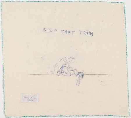 Tracey Emin-Stop That Train-1998