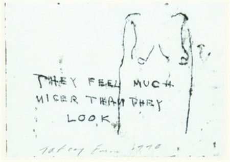 Tracey Emin-They Feel Much Nicer Than They Look-1990