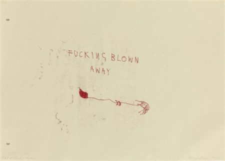 Tracey Emin-Well + Truley Fucked-2000