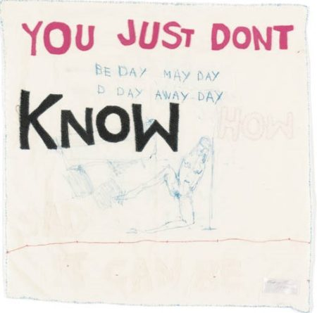Tracey Emin-You Just Don't Know-1999
