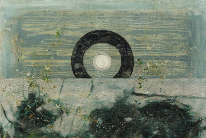 Tremblement de Terre (Earthquake) by Wolfgang Beltracchi, detail via zersaugt