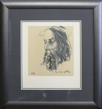 Tsuguharu Foujita-Le Christ-1966