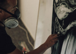 Twoone and Jun Inoue at Urban Spree by Christiania Krueger
