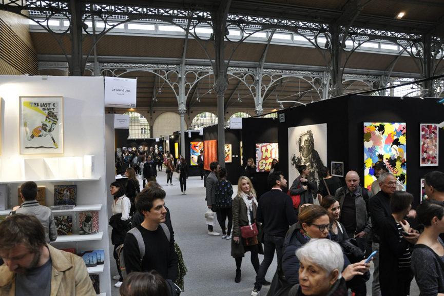 Urban Art Fair Paris 2017 in 53 Pictures