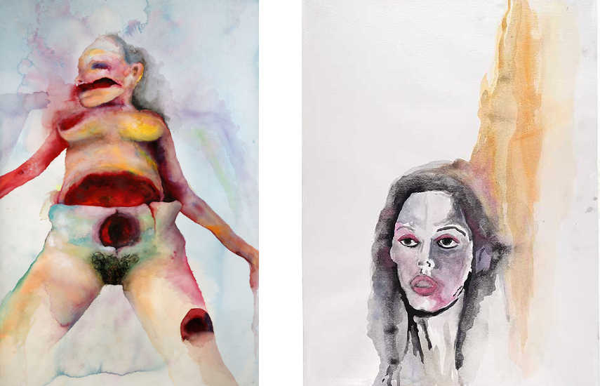 marilyn manson paintings news artwork site contact manson's exhibition