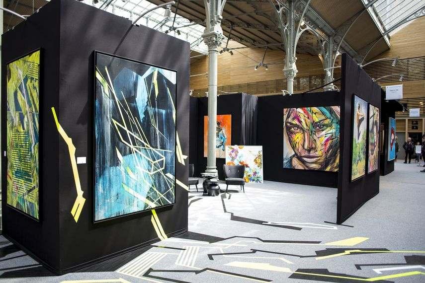 artsy urbanartfair will introduce the fashionartist avril in the exhibit