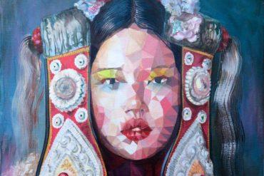 Celebrities in a Peripheral Vertigo - Uri Martinez Art at Fousion Gallery