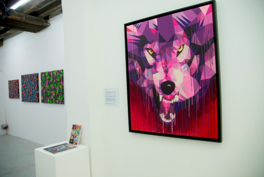 urban art exhibition