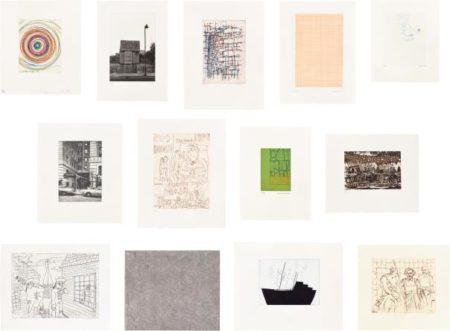 Rachel Whiteread-Daniel Richter-Chris Ofili-Damien Hirst-Peter Doig-Various Artists - Stutz Mappe (Support Portfolio)-1995