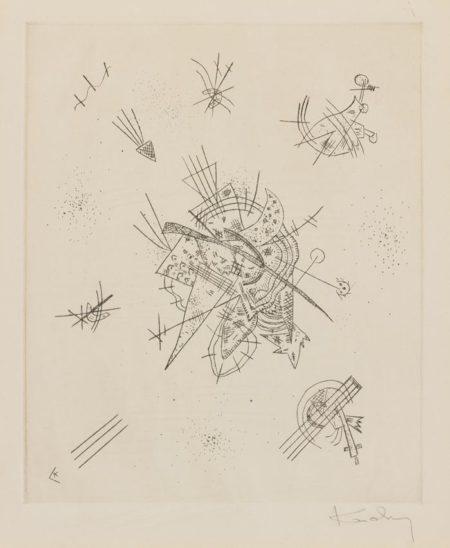 Wassily Kandinsky-Kleine Welten X-1922