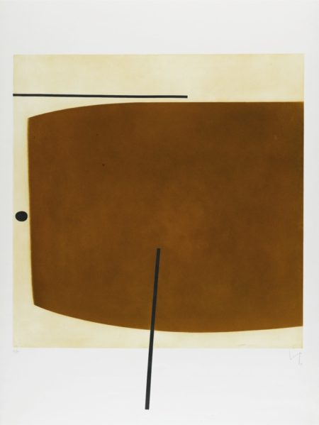 Victor Pasmore-Brown Image Two-1978
