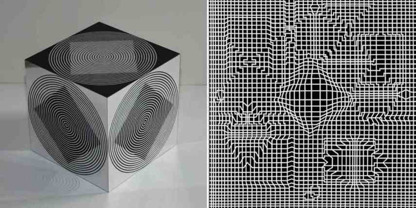 D Illusion Exhibition : The significance of op art movement widewalls