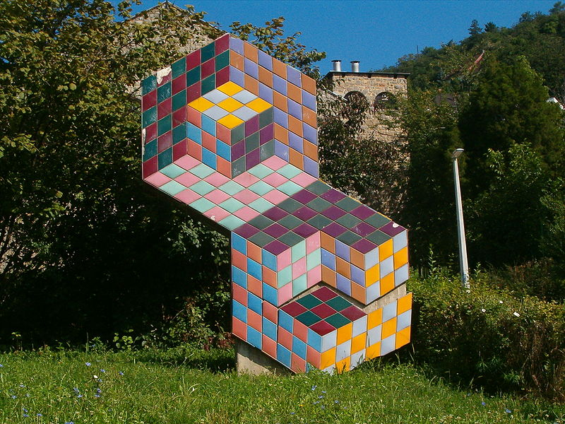 Victor Vasarely - - image via wikimedia.org