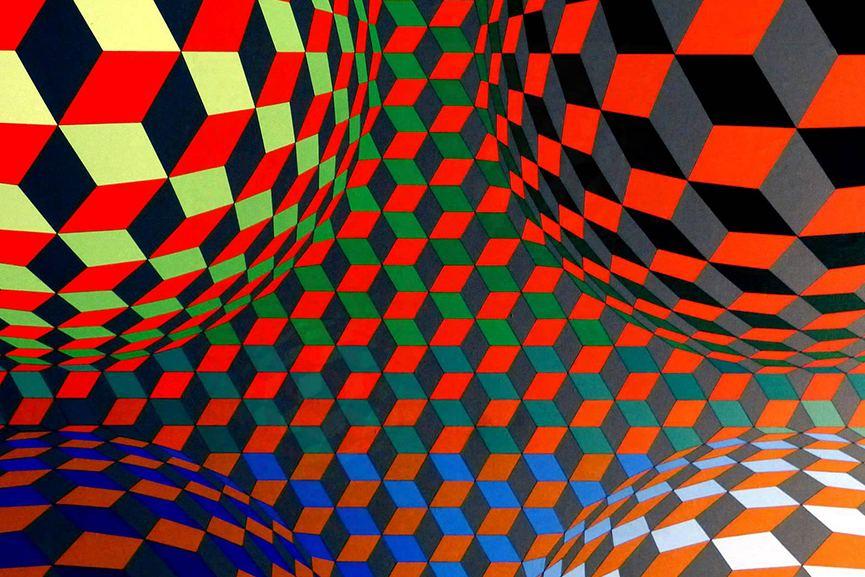 Victor Vasarely Creating A Universal Visual Language Widewalls