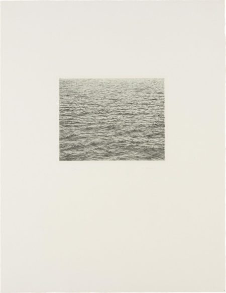 Drypoint - Ocean Surface-1983
