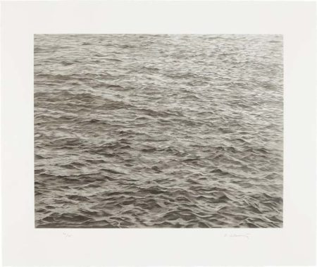 Vija Celmins-Ocean with Cross #1-2005