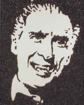 Vik Muniz-Dracula (from Caviar Monsters)-2004