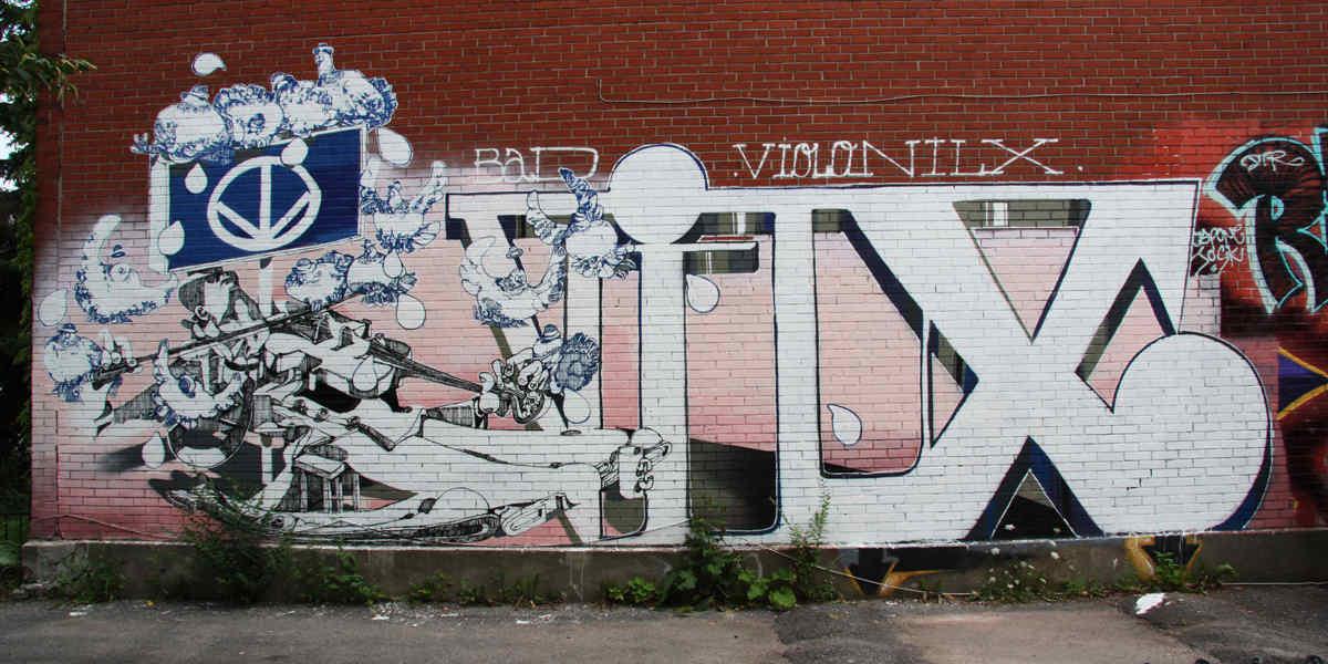Vilx - street art - photo via wall2wallmtl com