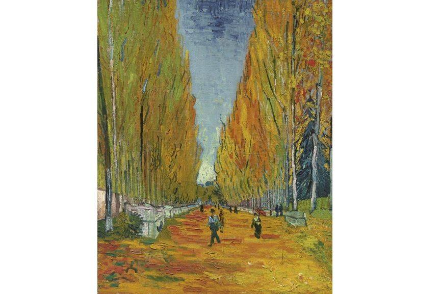 Vincent Van Gogh - L'Allee des Alyscamps, via sothebys com