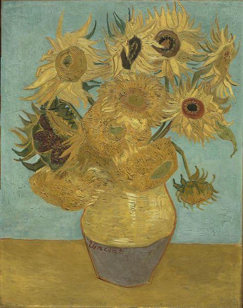 Sunflowers, 1888-89