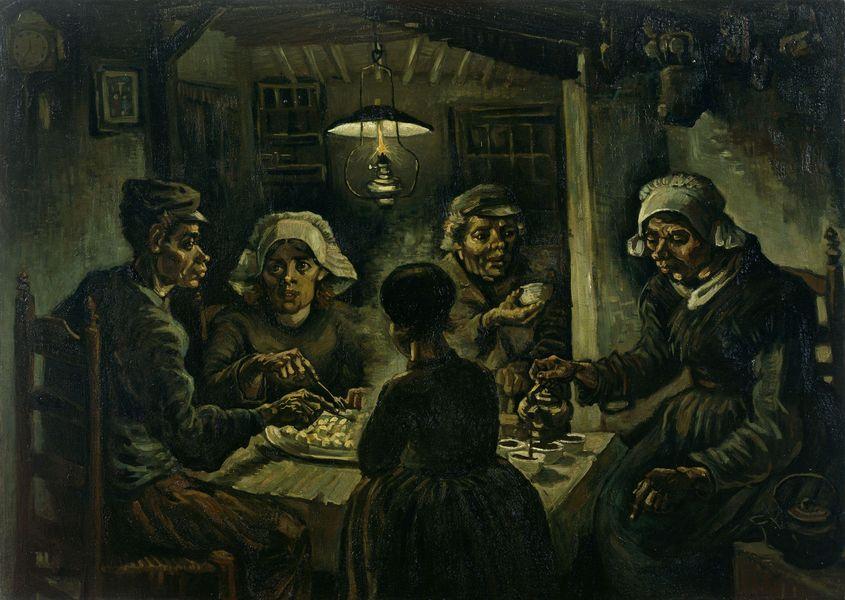 Vincent van Gogh - The Potato Eaters, 1885