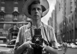 Vivian Maier - Self-portrait, New York City, c. 1950s