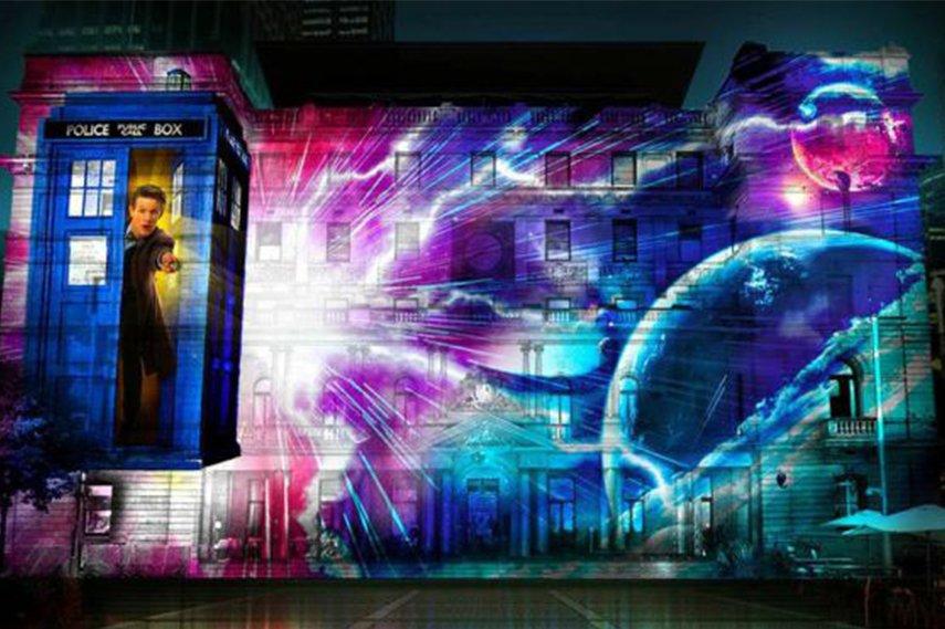 Vivid Sydney 3D Lights quote gift travel