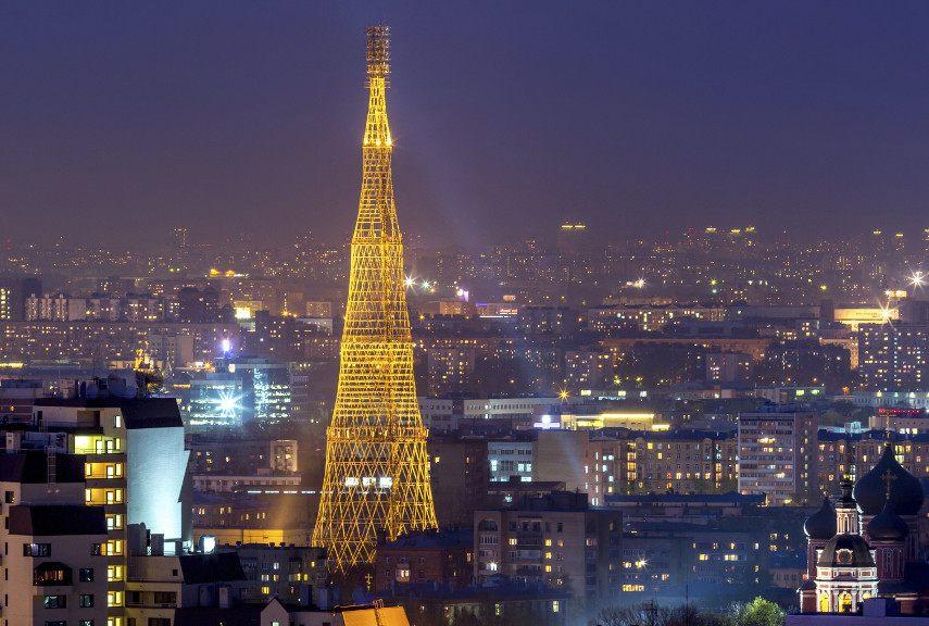 Vladimir Shukhov - The Shukhov Tower, 1922 - Image via architecturaldigestcom