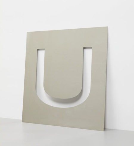 Wade Guyton-U Stencil-2006