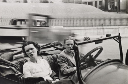 Walker Evans-Parked Car, Small Town, Main Street, Ossining, New York-1932