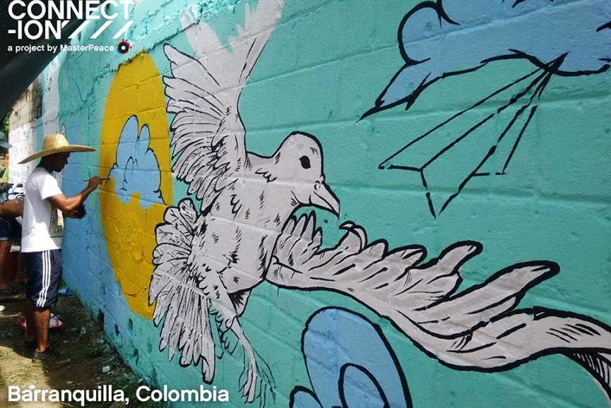 Wall in Colombia