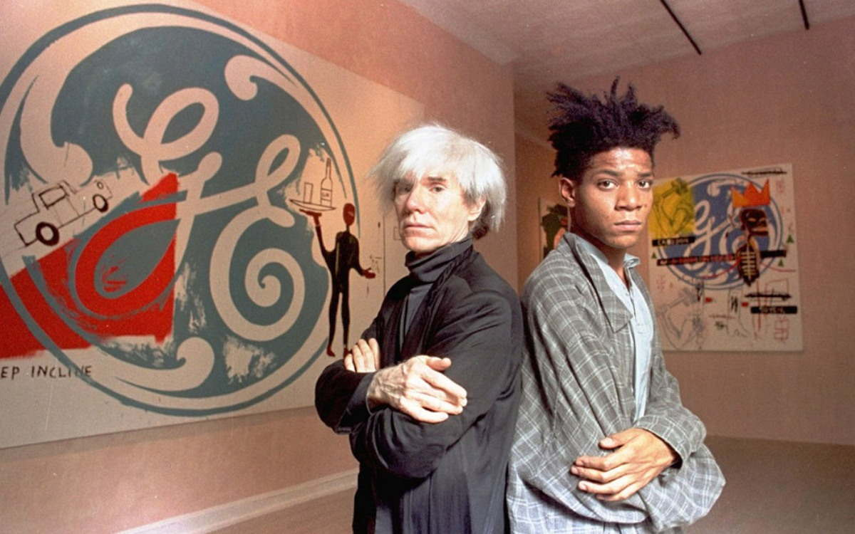 Image result for andy warhol and basquiat