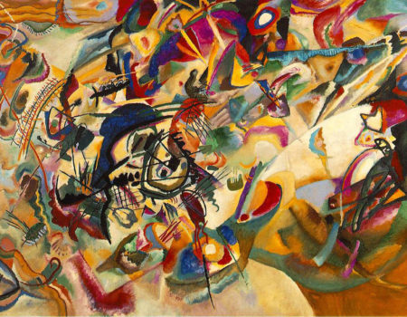 Where Can We See Wassily Kandinsky Artwork ?