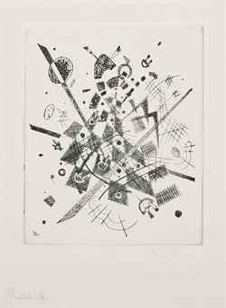Wassily Kandinsky-Kleine Welten IX-1922