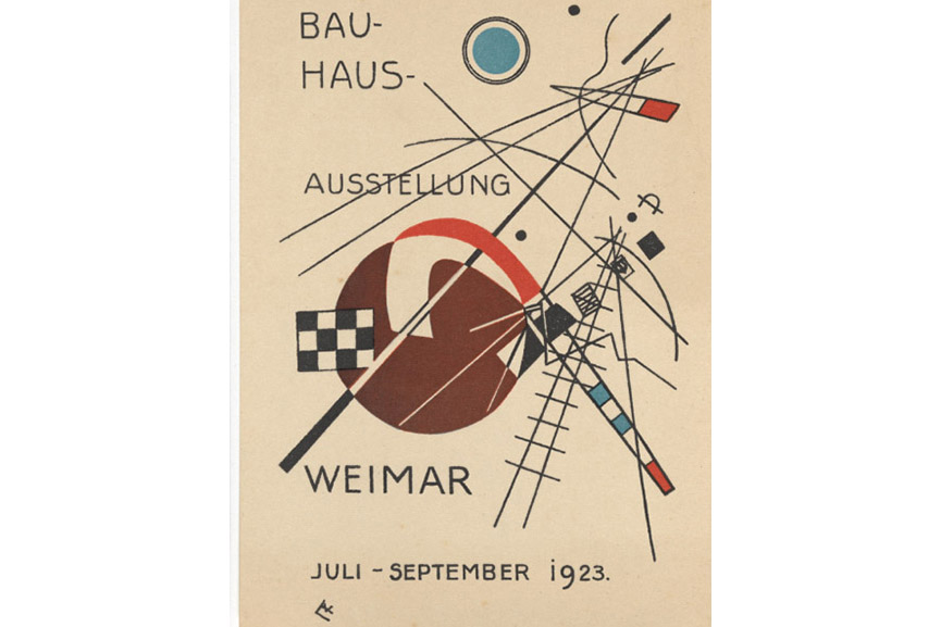 Bauhaus typography geometric new use typefaces
