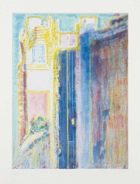 Wayne Thiebaud-City Edge-1988