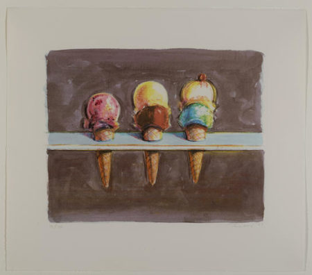 Wayne Thiebaud-Five Flavors-2003