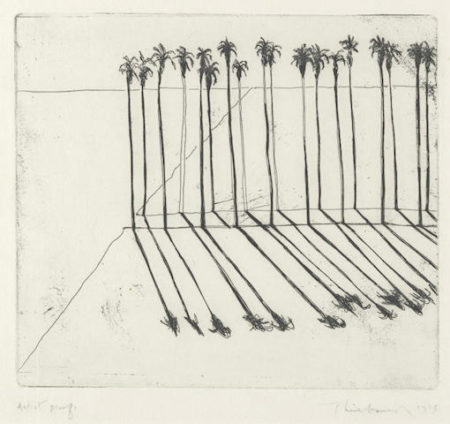 Wayne Thiebaud-Palms-1965