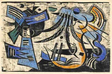 Werner Drewes-Northern Transition (Northwestern Transition)-1944