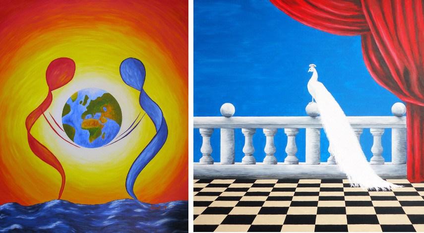 Werner Szendi - World Handshake, 2008 / Self Worth, 2013