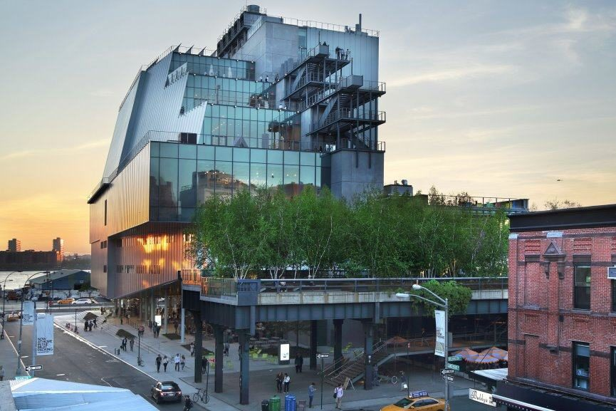 Whitney Museum fifth floor category film programs