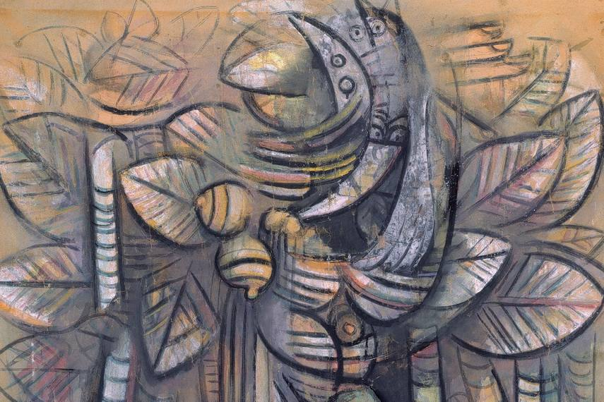 Both Pablo Picasso and Matisse were often in contact with modern this  Cuban born artist